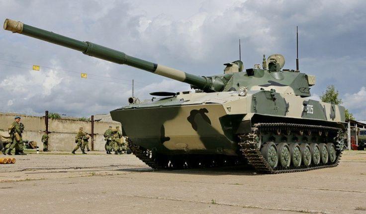 Russian airborne amphibious tank destroyer - 2S25 Sprut-SD [1024x599]