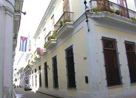 Hotel Marques de Prado Ameno enjoys a privileged position between stones arcades and columns, Marquis de Prado Ameno Hotel emerges from Colo...
