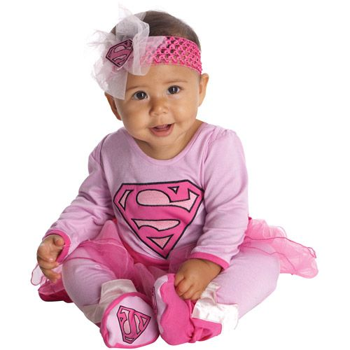 rubies supergirl infant halloween costume halloween walmartcom - Walmart Halloween Costumes For Baby