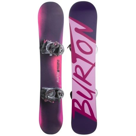 Burton Ready to Ride Snowboard Package (For Women)