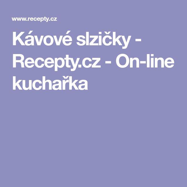 Kávové slzičky - Recepty.cz - On-line kuchařka
