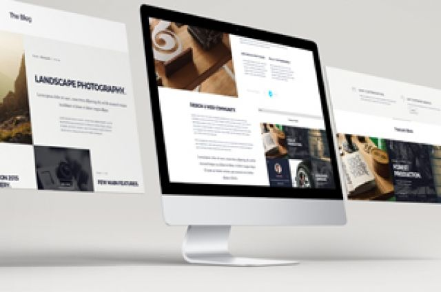 Volume 2 of our psd web screens mockup to showcase your website ...