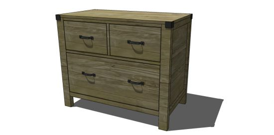 Lateral Filing Cabinet Plans Woodworking Projects Amp Plans