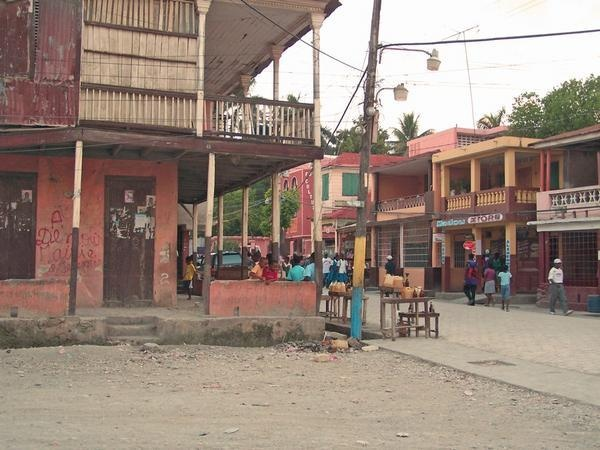 Downtown Jeremie, Haiti