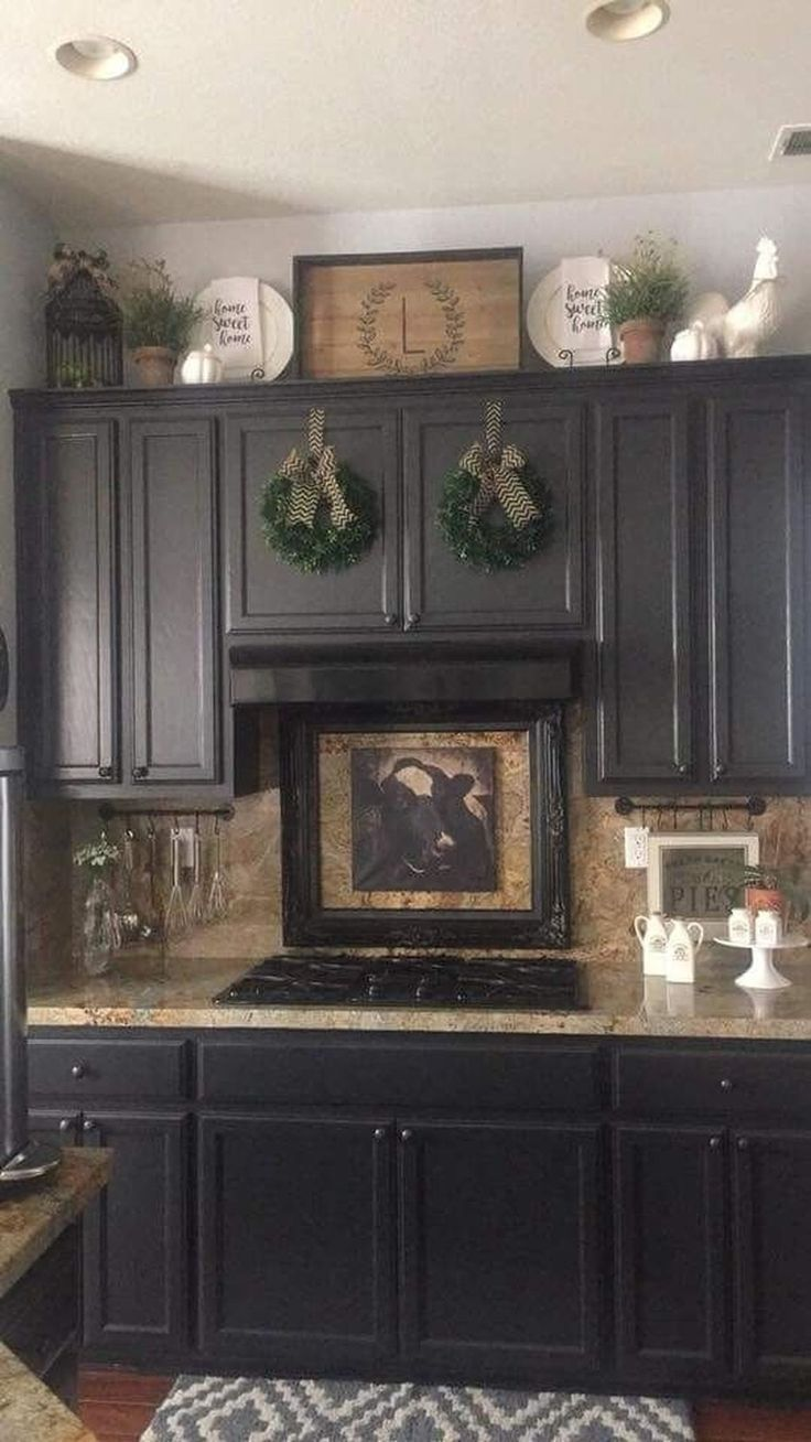 9+ Rustic Farmhouse Kitchen Decoration Ideas   TRENDUHOME ...
