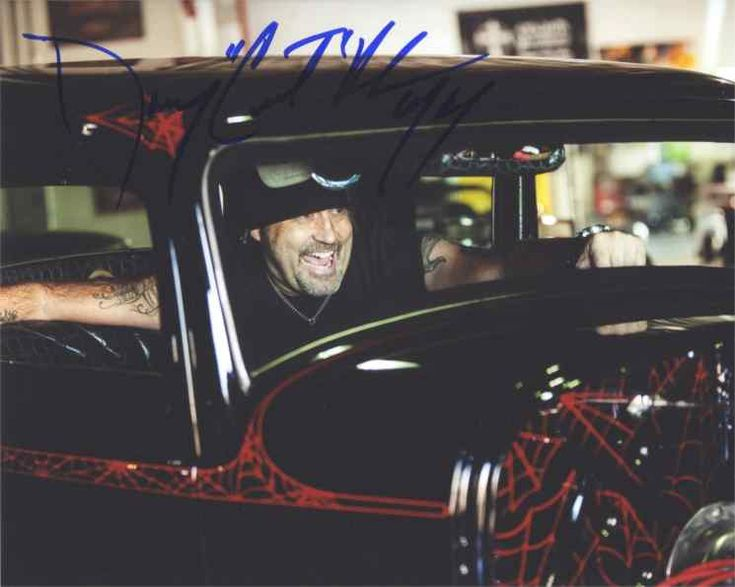 Danny Koker 'Counting Cars' Signed 8x10 Photo Authentic
