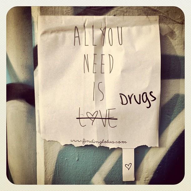 All you need in Bondi... #bondi #atbondi #drugs #funny #sign #love