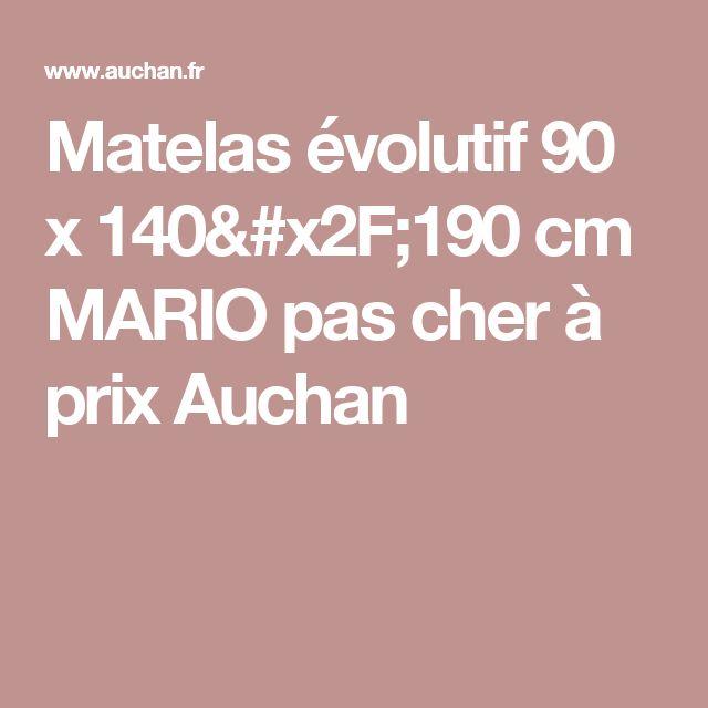 Les 25 meilleures id es concernant matelas 140 sur pinterest matelas 160 l - Matelas pas cher 90 x 190 ...
