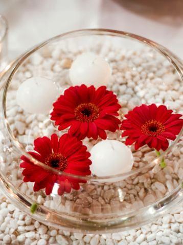 gerbera daisies centerpieces - Google Search