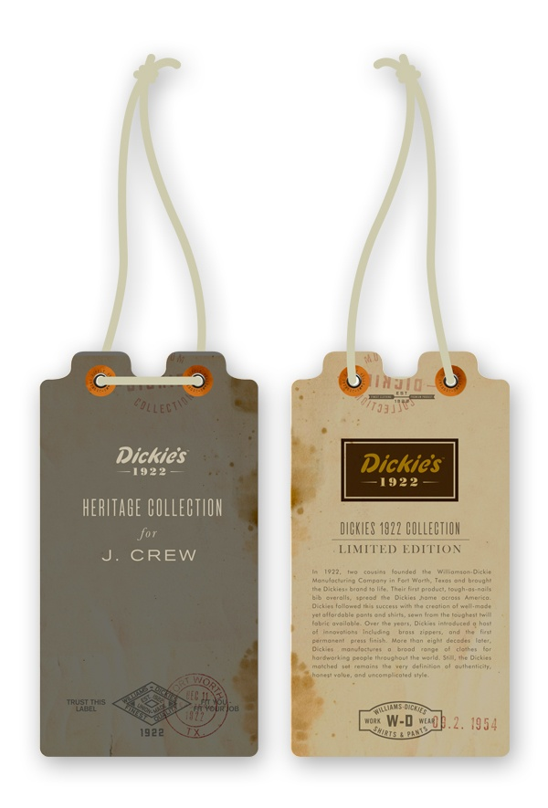 Dickies Tags by Dustin Wallace