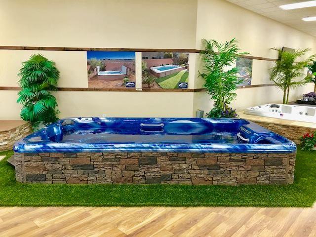 Swim Spa Floor Model At Creative Spa Designs Swim Spa Spa