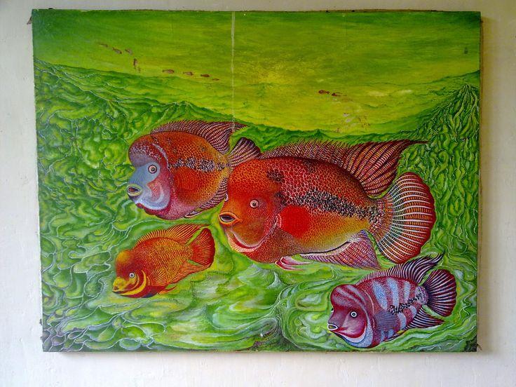 Panduan Pintar Membuat Gambar Hewan: Melukis Ikan Lou Han