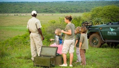 Safari holidays for families