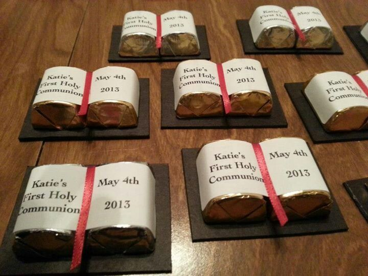 First Communion Favors