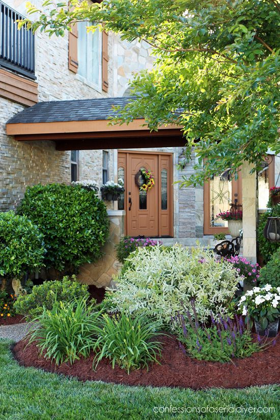 front yard garden tour from confessionsofaserialdiyercom