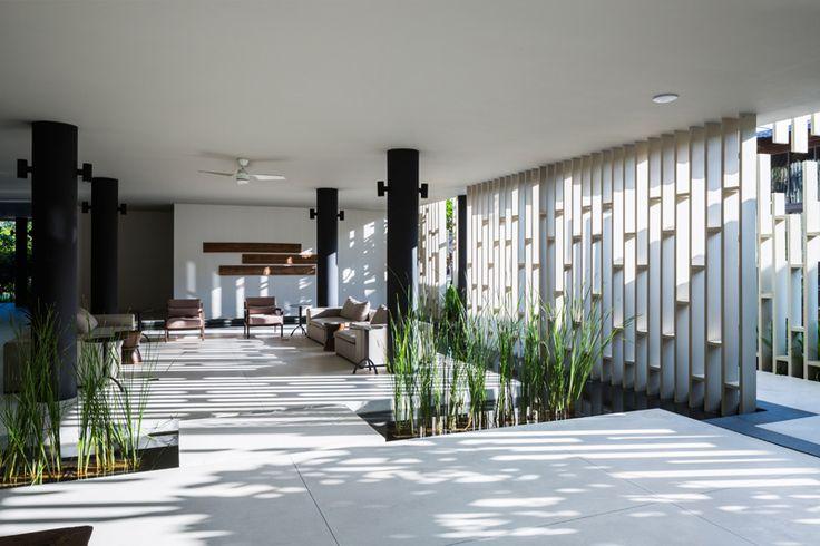 Spa Center Design in Vietnam Adorned With Beautiful Hanging Gardens - http://freshome.com/spa-center-design-in-vietnam-adorned-with-beautiful-hanging-gardens