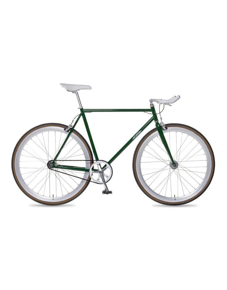 Bicicleta Single Speed Dark Green FOFFA