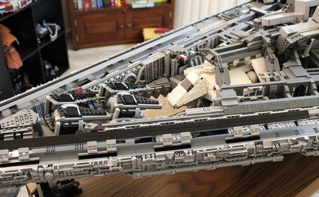 "Giant 5ft-long LEGO Star Wars Imperial Star Destroyer ""Tyrant"" features incredible interior"
