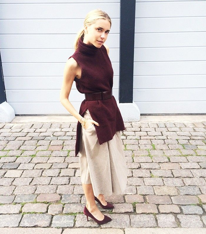 Pernille+Teisbaek+Paris+Fashion+Week+Street+Style+via+@WhoWhatWear: