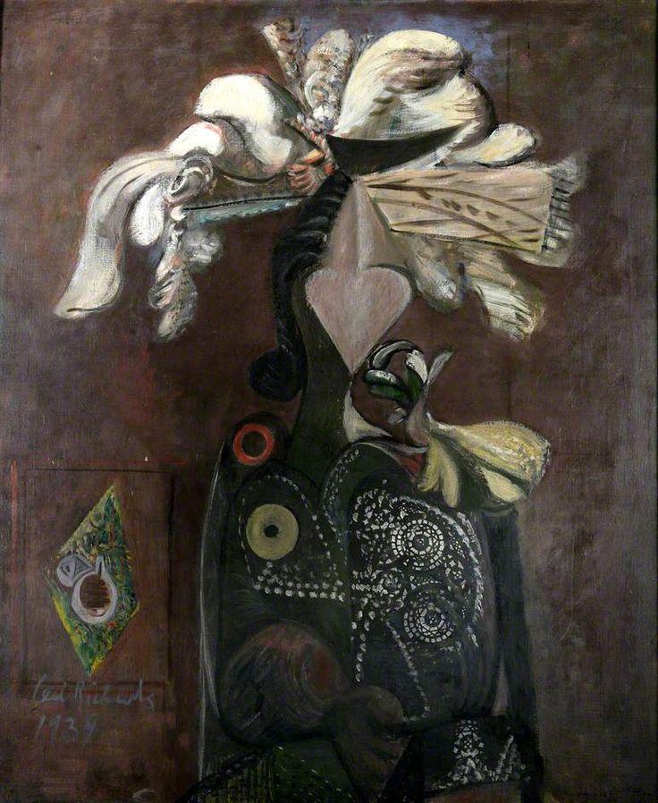 Ceri Richards (1903–1971),  Costerwoman, 1939, Oil on canvas, 82.1x69.1 cm | Glynn Vivian Art Gallery