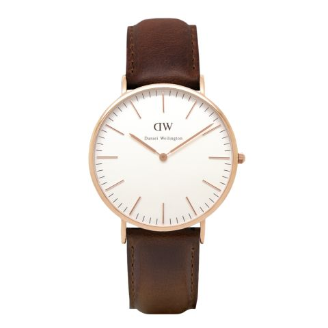 GREAT HOLIDAY GIFT IDEA FOR THE MAN IN YOUR LIFE: Classic Bristol watch by Daniel Wellington, Swedish watch makers. Streamlined and sleek in beautiful Rose Gold or Silver. Also sell women's watches too!