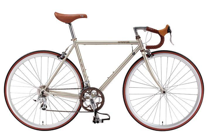 BEAUTIFUL bike. Love the brown accents.
