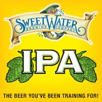 SweetWater IPA -- semi-local IPA beer. Felt the need for something IPA. This is entirely sufficient. I am no IPA expert, though.