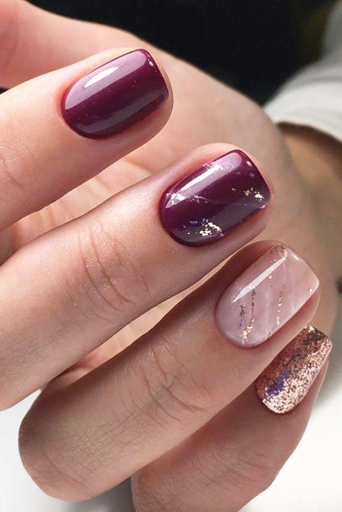 Best 25+ Maroon nail designs ideas on Pinterest | Maroon ...