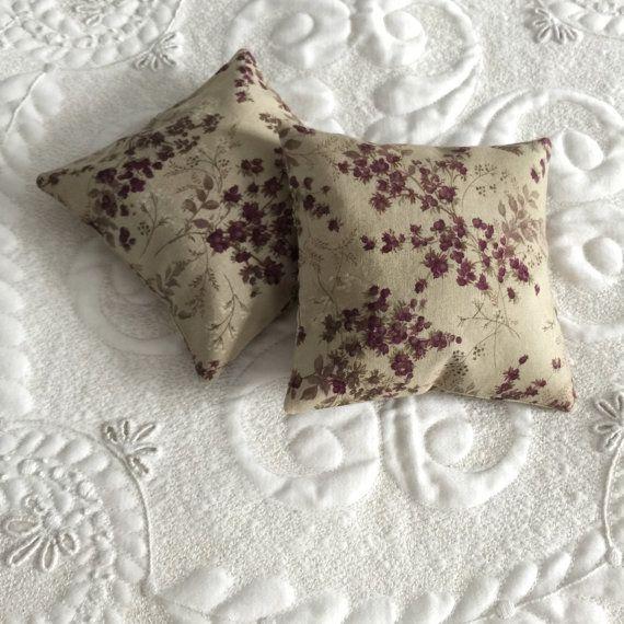 Balsam Fir Sachet  Organic Balsam Fir  Cotton by SuchAPrettyDress