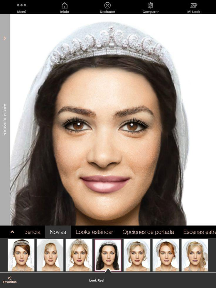 ¡Prueba fabulosos looks para novia con el Maquillaje Virtual Mary Kay! Cambia tu imagen ahora #look #novia