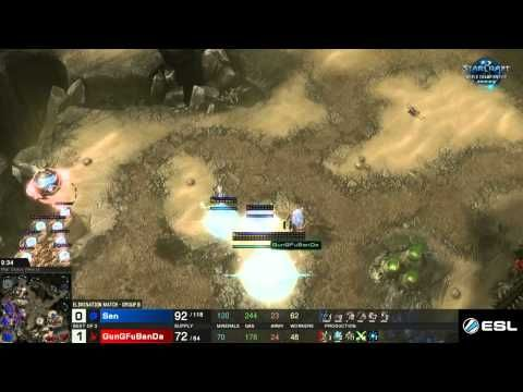 SC2 WCS Premier League GunGFuBanda VS Sen Round 2 - Group B