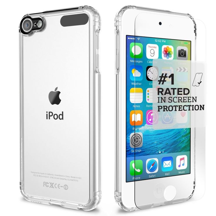 iPod Touch 6th / 5th Generation Crystal Clear Protective Kit