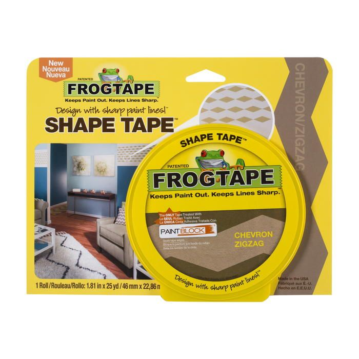 Design a Chevron Room! FrogTape Painters Tape Giveaway