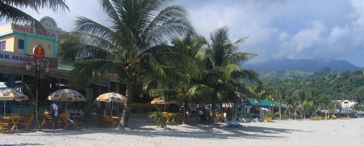 Puerto Galera, on the island of Mindoro. Diving, sailing, and lively nightlife.