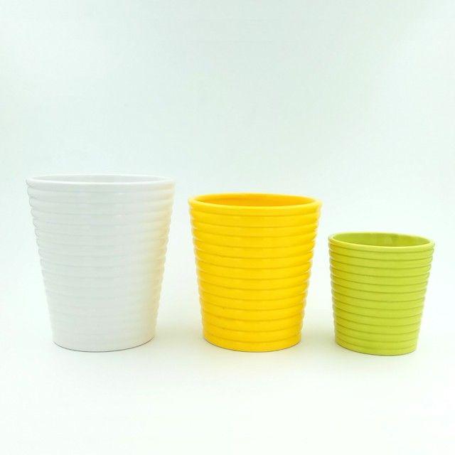 new home decor and garden mini ceramic flower pots wholesale