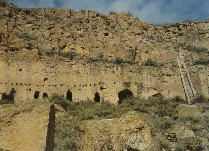 Puye Ruins in Rio Arriba County, New Mexico.