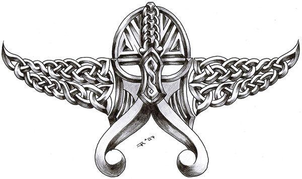 Viking Dragon Tattoo Designs | Celtic Viking Tattoo Design