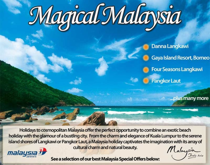Magical Malaysia - city chic and beach paradise combined