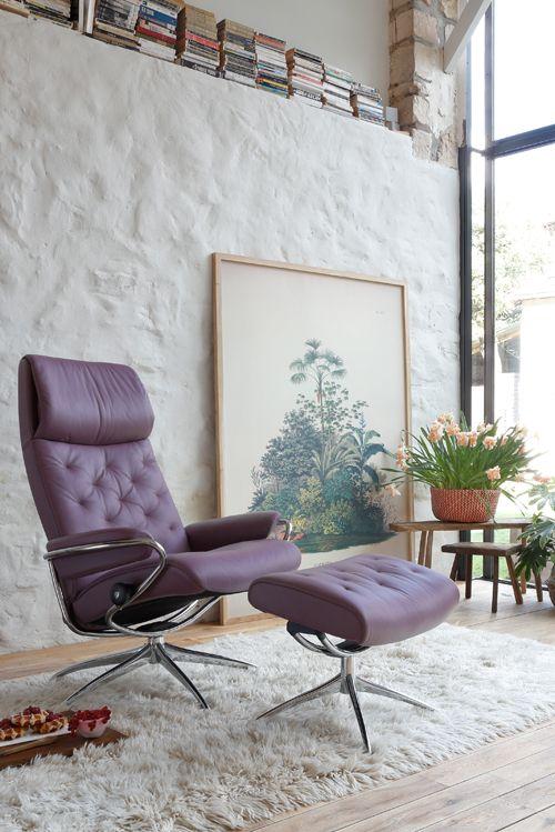 Hier Treffen Design Und Komfort Aufeinander Stressless Sessel Metro