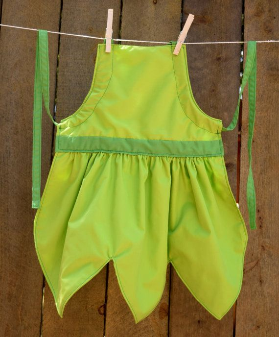 Tinkerbell Dress Up Apron for Girls  Basic or Decorative by OfMiceAndElves, $25.00