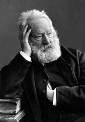 Victor Hugo photographed by Nadar.