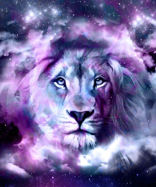 PURPLE LION KING