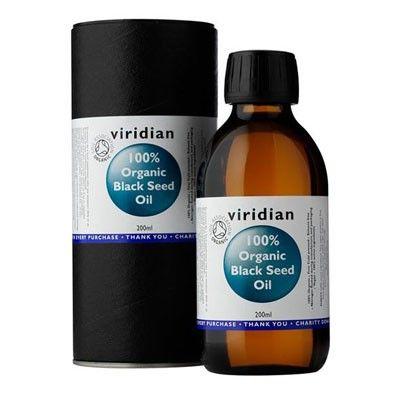 Viridian - 100% Οργανικό Λάδι από Μαύρο Κύμινο / Organic Black Seed Oil