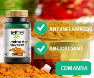Curcumin este ingredientul activ din condimentul galben turmeric. Este numarul unu mondial dintre condimente ce combate H. Plyori- principalul microb banuit a cauza cancer( a se vedea cauzele cancerului ) Numeroase studii au aratat turmeric(curcumin) a fi la fel de puternic impotriva inflamatiei ca hidrocortizonul, fenilbutazona, chiar peste medicamente cum ar fi Motrin, fara efecte secundare.