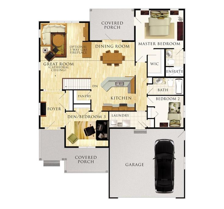 27 best house plans images on Pinterest | House floor plans, House ...