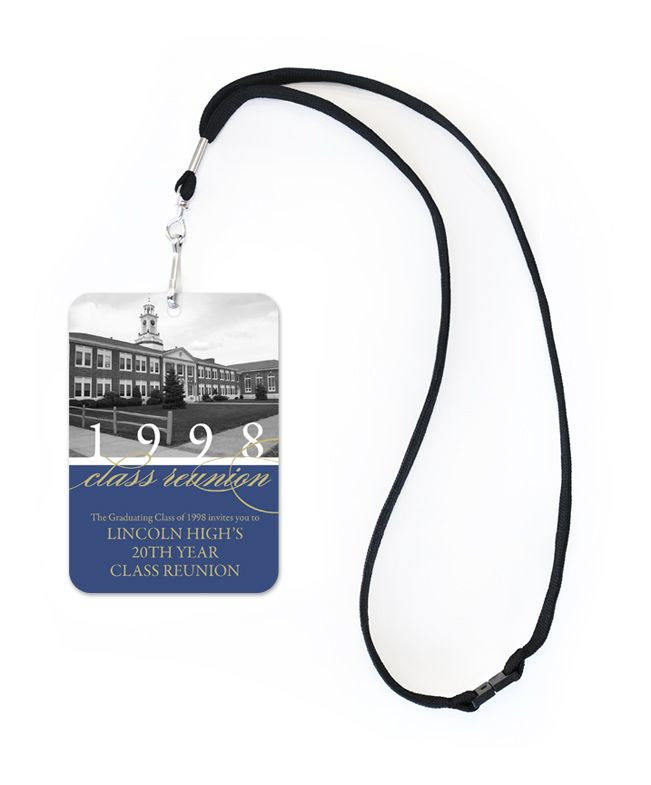 Class Reunion VIP - Party Invitations by Invitation Consultants. (Item # IC-RLP-RD-90 )