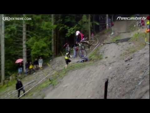 """Danny Hart's DH World Championship Winning Run-great riding, but for the love of all that is good and holy, only watch on """"mute"""" because the commentators are OBNOXIOUS.  You've been warned."""