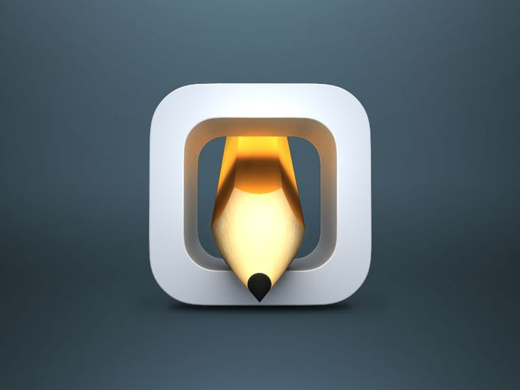 Sketch It, App Icon Concept by Lewis James