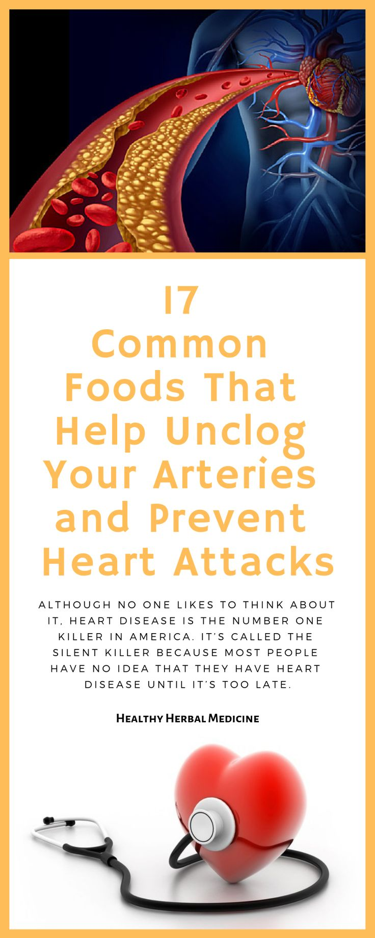 17 Common Foods That Help Unclog Your Arteries and Prevent
