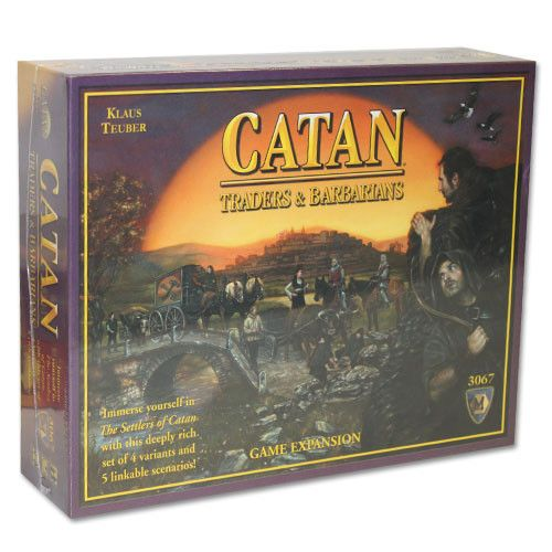 Mayfair Games TMAY-08 Catan: Traders & Barbarians Game Expansion - 4th Edition